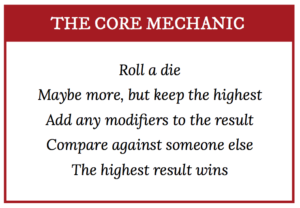 Polyhedral Core Mechanic