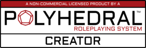 Polyhedral Roleplaying System License Creator Logo