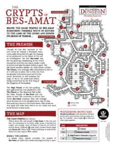 IBP 1601 - Polyhedral Dungeon Crypts of Bes-Amat Cover 150dpi