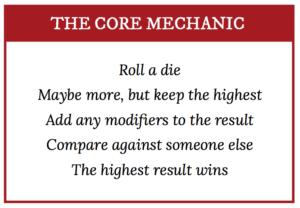 Polyhedral Core Mechanic
